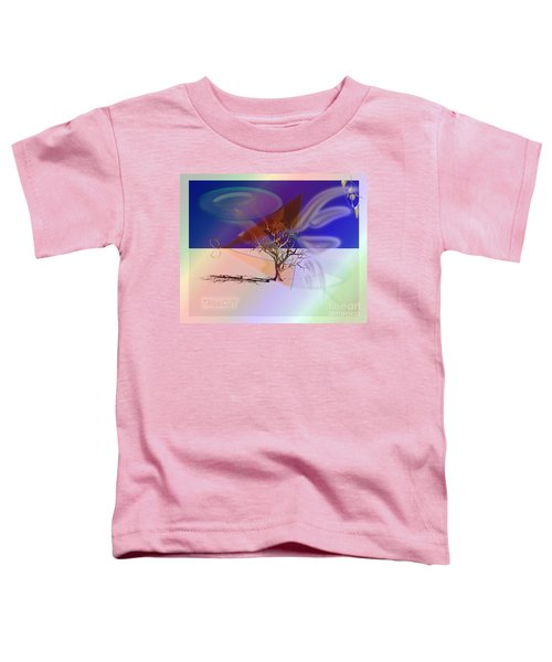 Tree Cut Toddler T-Shirt