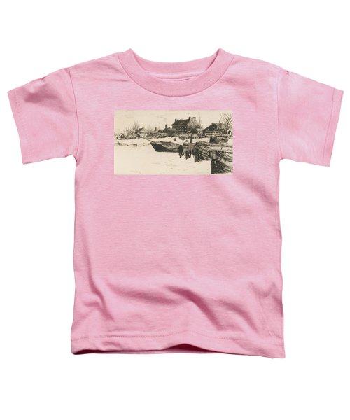 Trenton Winter Toddler T-Shirt