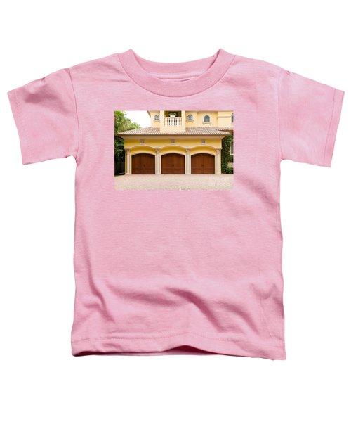 Triple Garage Doors Toddler T-Shirt