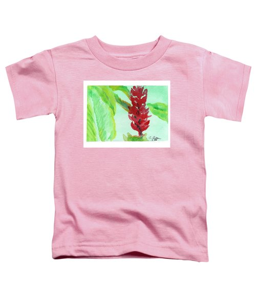 Tropical Flowers 2 Toddler T-Shirt