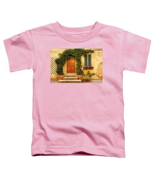 Tuscan Front Door Toddler T-Shirt