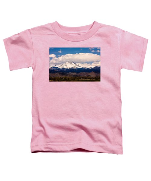 Twin Peaks Snow Covered Toddler T-Shirt by James BO  Insogna
