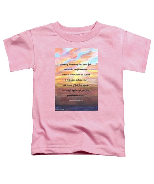 Two Souls Destined To Be Together Toddler T-Shirt
