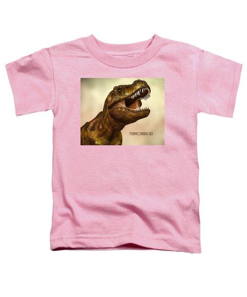 Tyrannosaurus Rex 3 Toddler T-Shirt