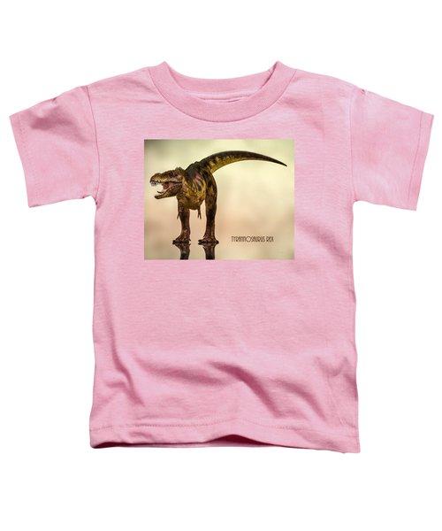 Tyrannosaurus Rex Dinosaur  Toddler T-Shirt