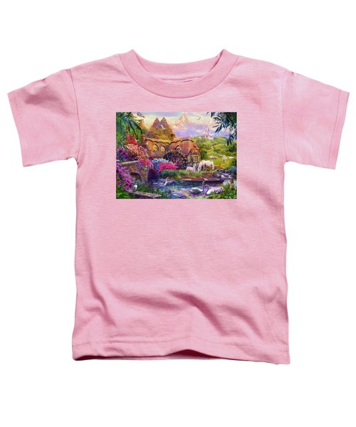 Toddler T-Shirt featuring the photograph Light Palace by Jan Patrik Krasny