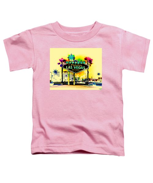 Vegas Weekends Toddler T-Shirt