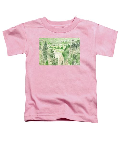 View From The Dam Toddler T-Shirt