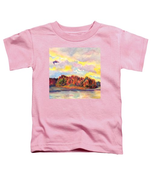 View Of Goat Island Toddler T-Shirt