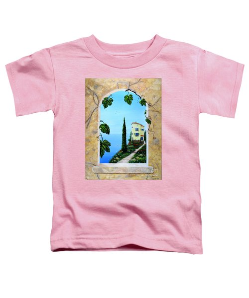 Villa By The Sea Toddler T-Shirt