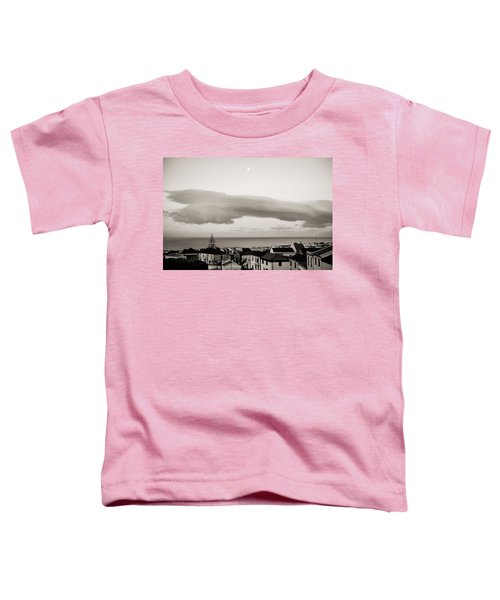 Village Rooftops At Sunrise Toddler T-Shirt