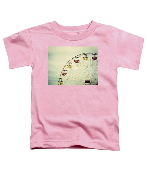 Vintage Ferris Wheel Toddler T-Shirt