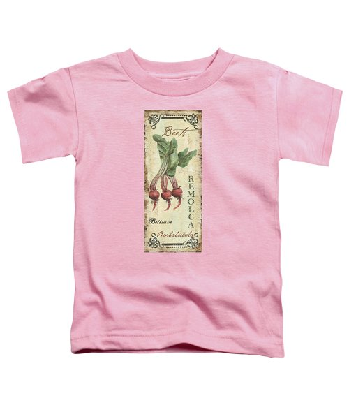 Vintage Vegetables 3 Toddler T-Shirt