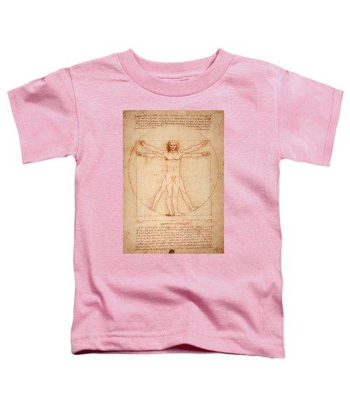 Vitruvian Man Toddler T-Shirt