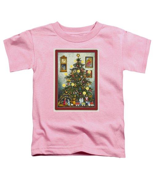 Waiting For Christmas Morning Toddler T-Shirt