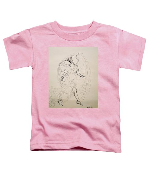 Walking With An Angel Toddler T-Shirt
