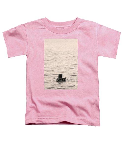 Warning Midwest Floods Toddler T-Shirt