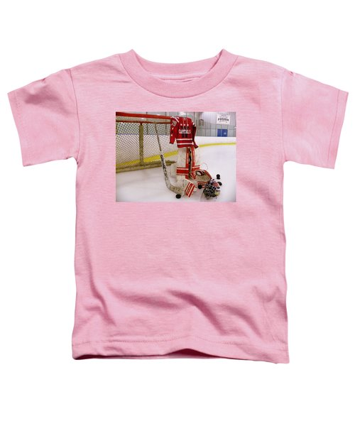 Washington Capitals Braden Holtby Winter Classic 2015 Jersey Toddler T-Shirt