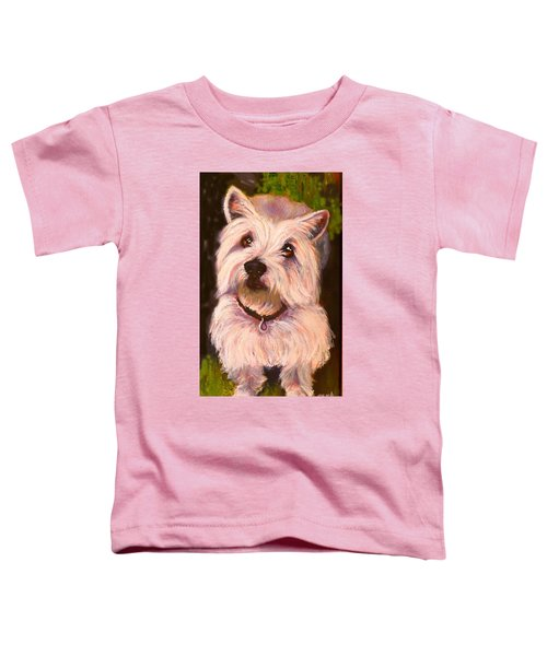 West Highland Terrier Reporting For Duty Toddler T-Shirt