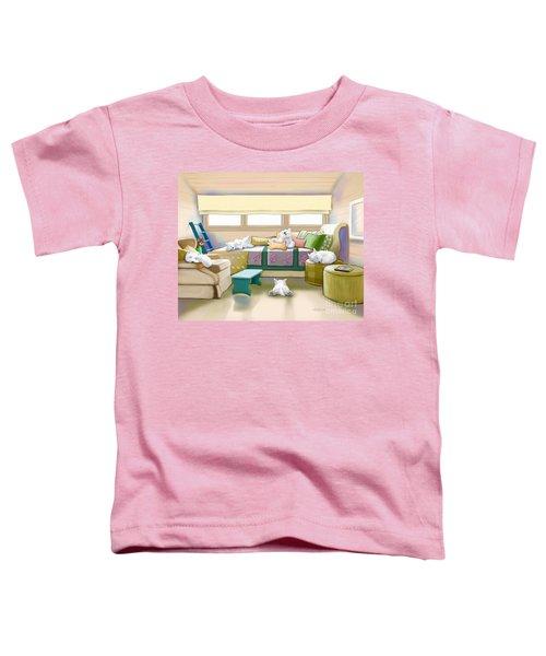 Westie Retreat  Toddler T-Shirt