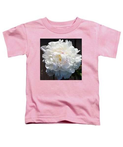 White Peony Toddler T-Shirt