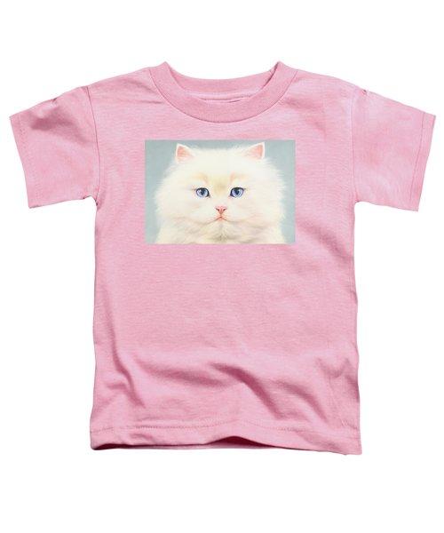 White Persian Toddler T-Shirt