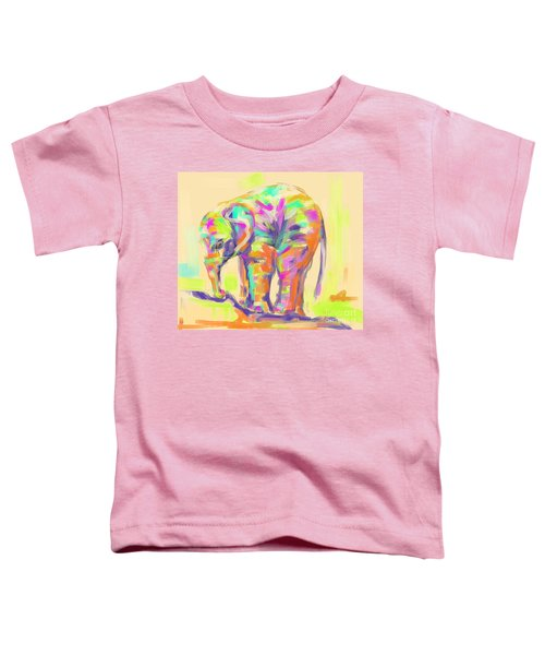 Wildlife Baby Elephant Toddler T-Shirt