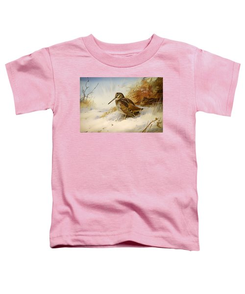Winter Woodcock Toddler T-Shirt