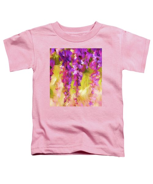 Wisteria Dreams Toddler T-Shirt
