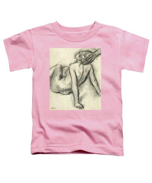 Woman Having Her Hair Styled Toddler T-Shirt