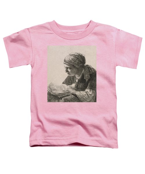 Woman Reading Toddler T-Shirt