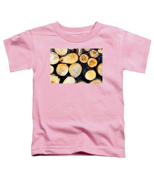 Wood Pile Toddler T-Shirt