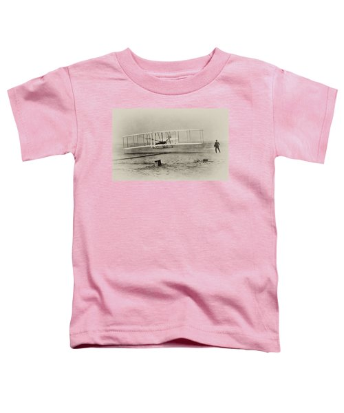 Wright Brothers - First In Flight Toddler T-Shirt