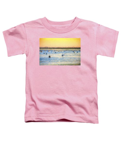 Yachts At Leigh On Sea Toddler T-Shirt