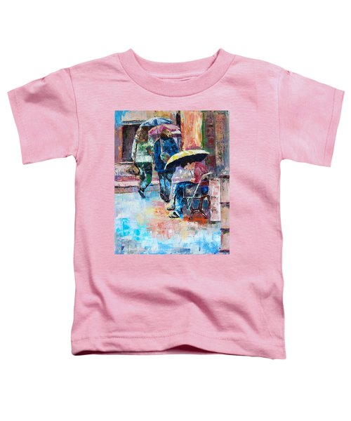Yellow Umbrella Toddler T-Shirt