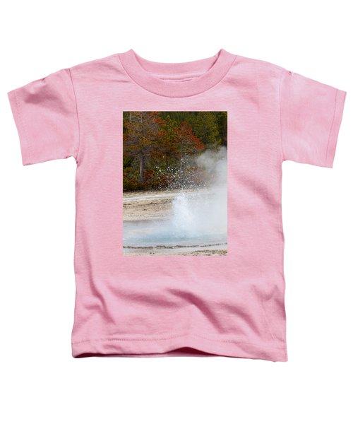 Yellowstone Geyser Toddler T-Shirt