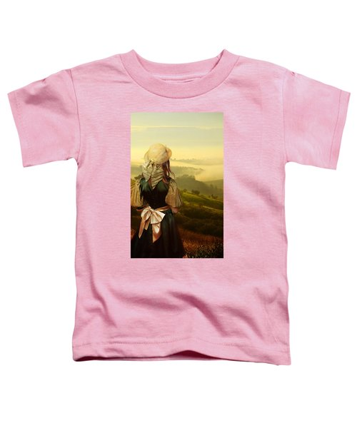 Toddler T-Shirt featuring the photograph Young Traveller by Jaroslaw Blaminsky
