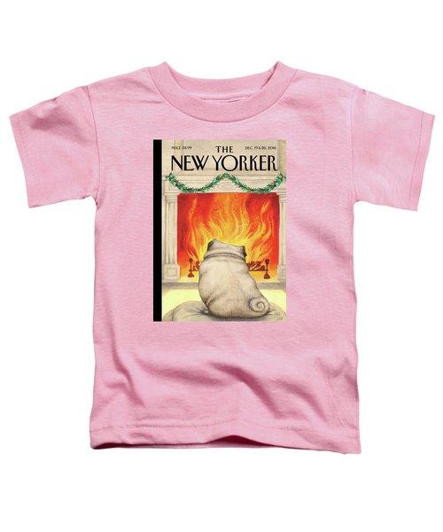 Yule Dog Toddler T-Shirt