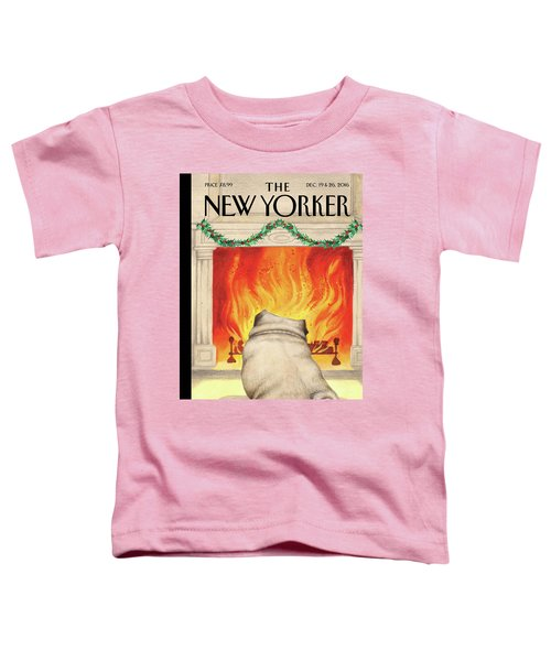 Yule Dog Toddler T-Shirt