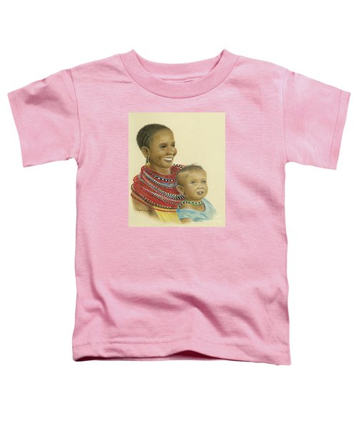 Masai Mom And Babe Toddler T-Shirt