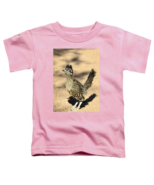 A Baby Roadrunner  Toddler T-Shirt by Saija  Lehtonen