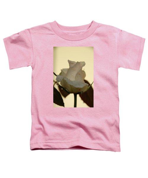 A Single White Rose Toddler T-Shirt