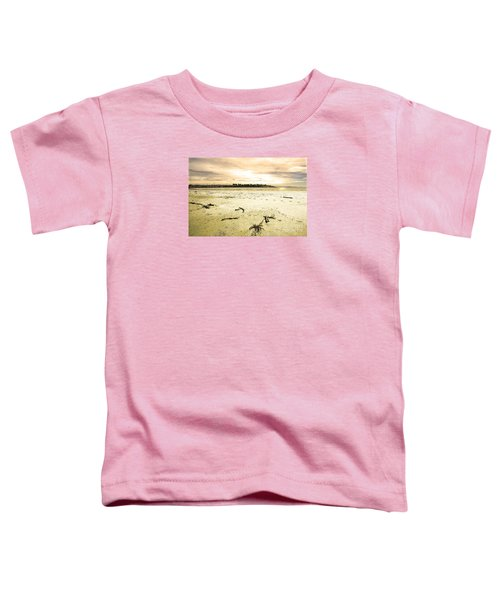 Toddler T-Shirt featuring the photograph At Caroline Bay Timaru New Zealand by Nareeta Martin