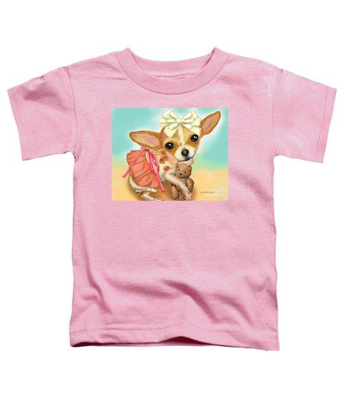 Chihuahua Princess Toddler T-Shirt