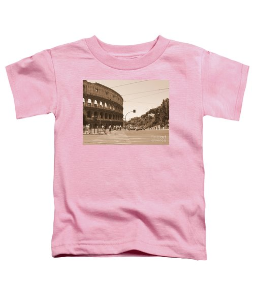 Colosseum In Sepia Toddler T-Shirt