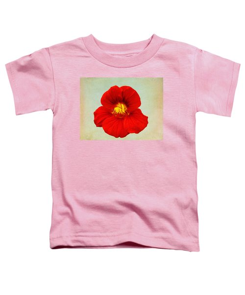 Toddler T-Shirt featuring the photograph Daylily On Texture by Bill Barber