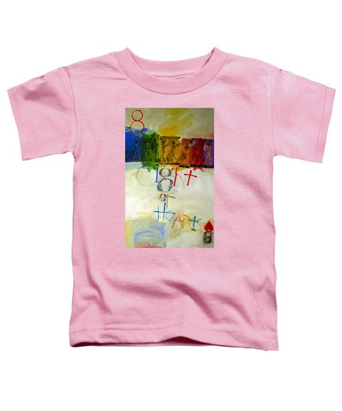 Eight Of Hearts 34-52 Toddler T-Shirt