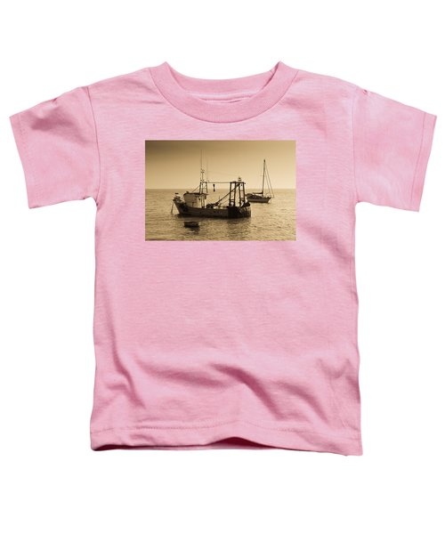 Fishing Boats Leigh On Sea Toddler T-Shirt