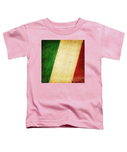 Italy Flag Toddler T-Shirt