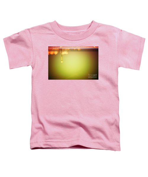 Lamp And Clouds In A Swimming Pool Toddler T-Shirt